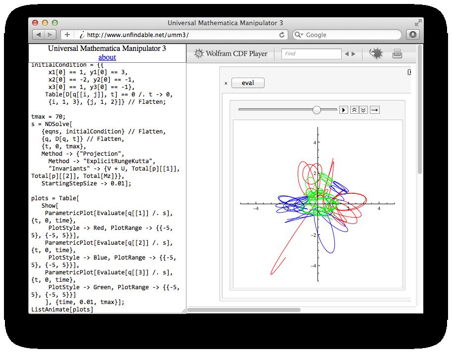 Wolfram CDF PlayerをMathematic...